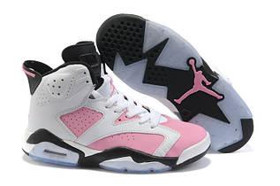 Кроссовки женские Nike Air Jordan 6 / AJW-061 (Реплика)