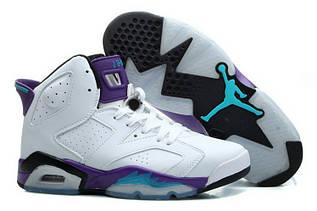 Кроссовки женские Nike Air Jordan 6 / AJW-062 (Реплика)