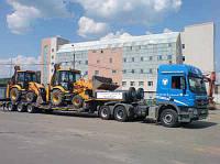 Доставка спецтехники по всей Украине