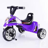 Детский велосипед трехколесный М 5346 - фиолетовый (в ассортименте)