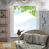 Глухое одностворчатое окно WDS Millenium, WDS 400, WDS 4 Series, WDS 500, WDS 7 Series
