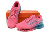 Женские кроссовки Nike Air Max 2015 pink-blue, фото 1