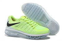 Женские кроссовки Nike Air Max 2015 салатовые, фото 1