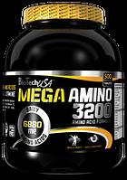 Купить аминокислоты BioTech USA Mega Amino 3200, 500 tabs