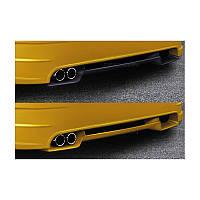 Накладка на задний бампер для Audi A3(8L)