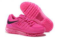 Женские кроссовки Nike Air Max 2015 розовые, фото 1