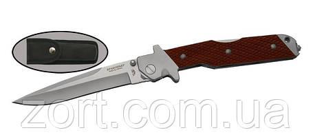 Нож складной, механический Браконьер, фото 2