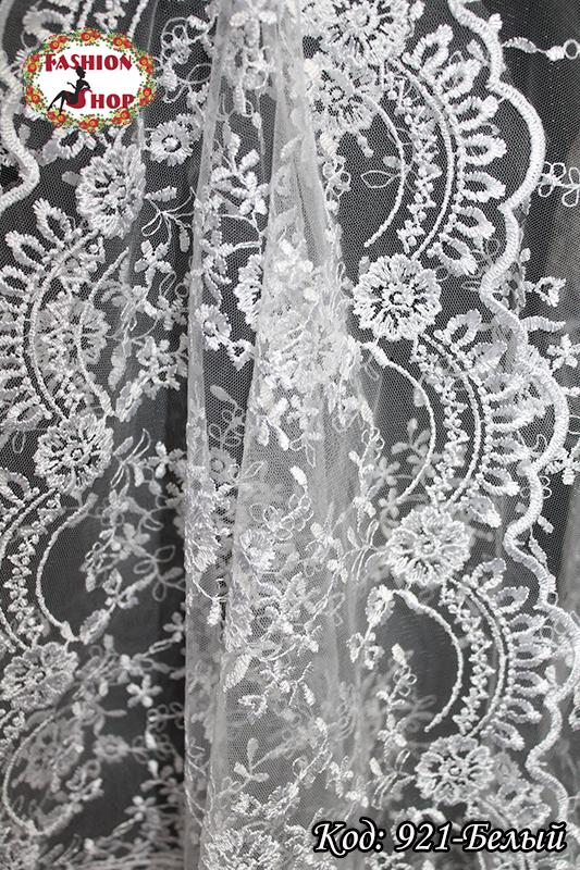 Свадебный палантин белый Алира