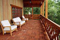 Террасы из композитной и деревянной  доски