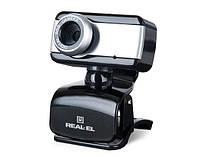 Веб-камера REAL-EL FC-130 с микрофоном (1.3 MPx)