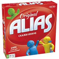 Игра настольная Элиас Alias скажи иначе Tactic 54335