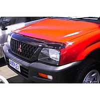Дефлектор капота ( мухобойка ) Mitsubishi L200 1999-2006