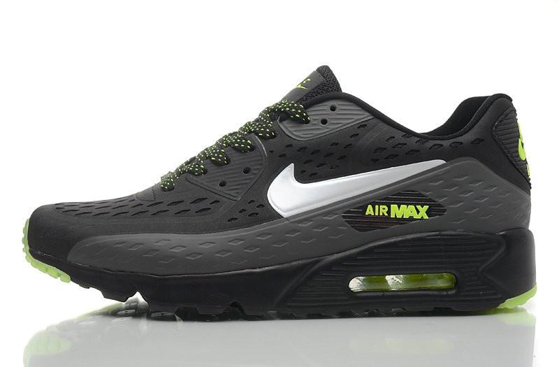 a255ee41ed76 Кроссовки Мужские Nike Air Max 90 Ultra BR Black Green (в Стиле Найк Аир  Макс 90) — в Категории