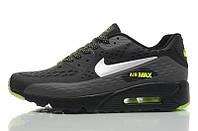 Кроссовки мужские Nike Air Max 90 Ultra BR Black Green (найк аир макс 90)