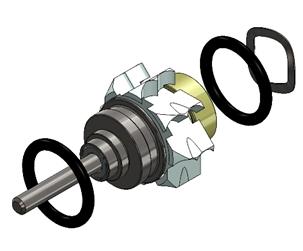 Роторная группа для NSK PanaMax TU кнопка ортопедическая голова металлические подшипники