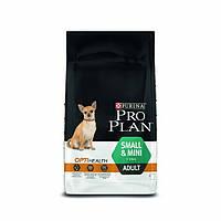 Pro Plan ADULT SMALL and MINI Optihealth Корм для взрослых собак мелких пород 7кг.