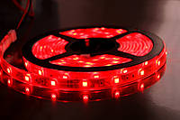 Светодиодная лента 3528 герметичная Красный