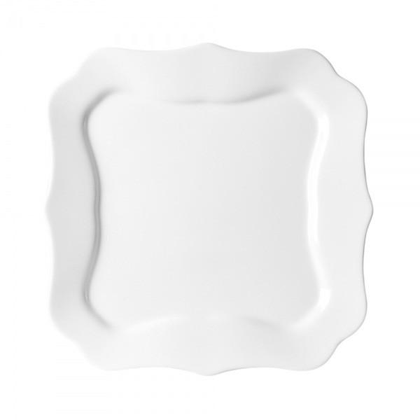 Authentic White тарілка десертна квадратна 20,5 см Luminarc J4701
