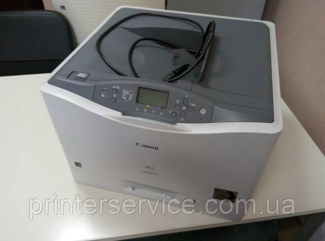 canon lbp 7750cdn, бу цветной лазерный принтер формата А4