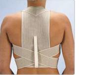 Эластичный реклинатор грудного отдела позвоночника