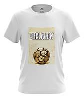 Футболка с рисунком FOOTBALL IS MY RELIGION
