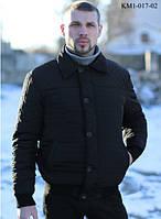 Стильная мужская куртка на стеганой плащевки