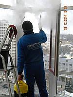 """Мойка окон с помощью парагенератора от компании""""ЕВРОУБОРКА""""  0675594580"""