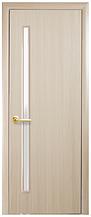 Глория - Дуб жемчужный (60, 70, 80, 90см). Коллекция Квадра. Межкомнатные двери МДФ Новый Стиль