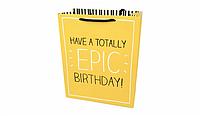 Пакет подарочный Epic Birthday