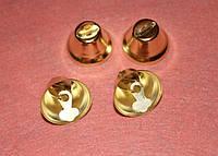 Колокольчик большой золото 718 поштучно, фото 1