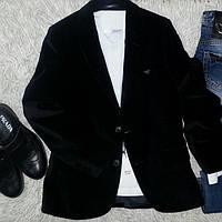 Пиджак детский клубный велюр фото
