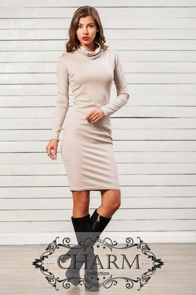 919174c6fda Купить Теплое трикотажное платье в Николаеве от компании