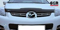 Дефлектор капота ( мухобойка ) Mazda CX7 2007+