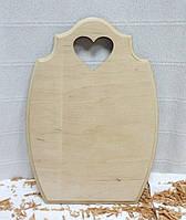 Дощечка декоративная Бочёнок с сердечком, 19х25,3см