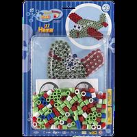 Набор мозаики «Самолет», HAMA Maxi 3+ (8918)