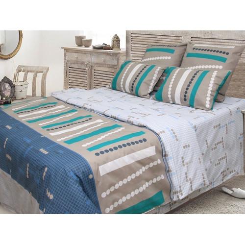 Комплект постельного белья  «Авангард» ТЕП бязь (100% хлопок) недорого.