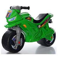 Мотоцикл- беговел 2-х колесный Орион зеленый 501