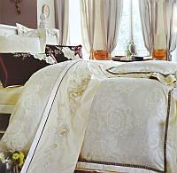 Постельное белье Сатин-жаккард (семейное) № J-208  Carven
