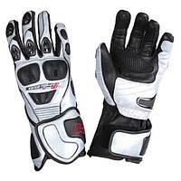 Мотоперчатки кожаные Octane OCT-116 Black/Silver Sz.S