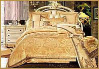 Постельное белье Сатин-жаккард (семейное) № J-175  Carven
