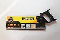 Ножовка для стусла Stayer, 300 мм, закаленный зуб.