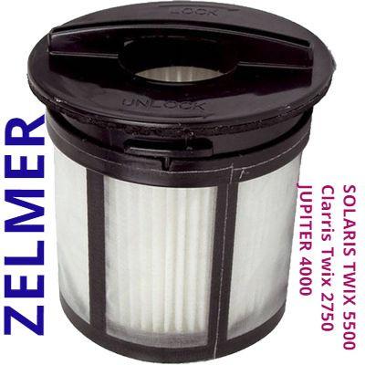 Оригінал Zelmer Solaris Twix 5500, Clarris Twix 2750, 01z010 Galaxy фільтр для контейнерних пилососів Зелмер