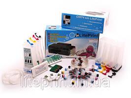 СНПЧ - Система Непрерывной Подачи Чернил LitePrint SX525WD, SX535WD, WF7015, WF7515, WF7525