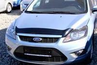 Дефлектор капота ( мухобойка ) Ford Focus 2005-2010