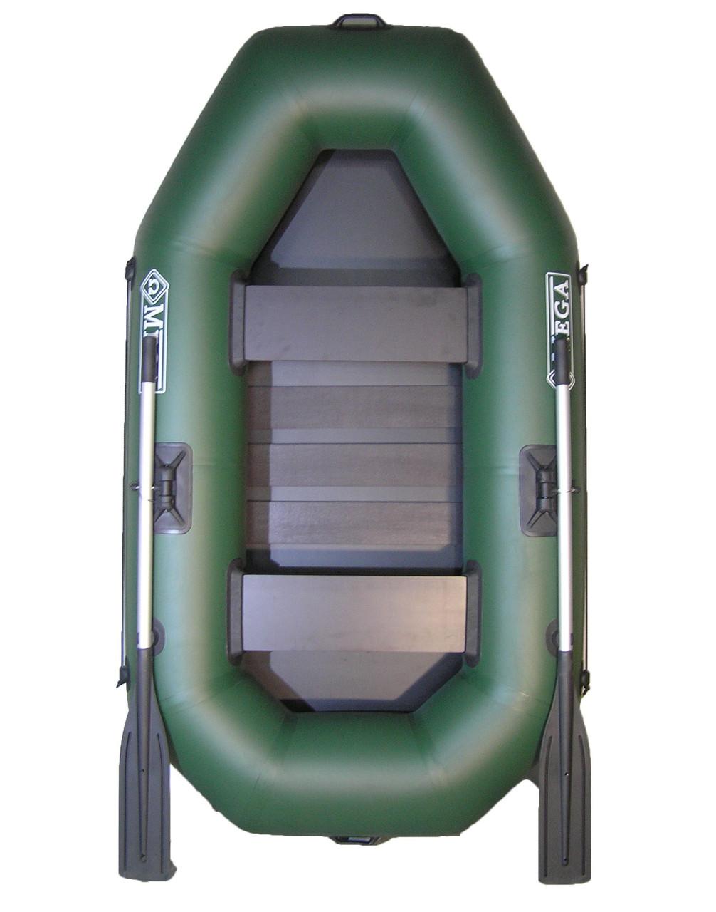 Лодка гребная надувная ПВХ Omega 220 LS