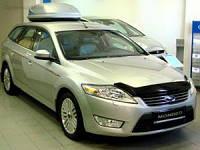 Дефлектор капота ( мухобойка ) Ford Mondeo 2007-2010