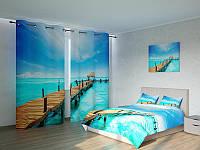 Фотокомплект Деревянный мостик на воде Код: ART 4199