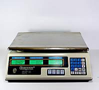 Весы торговые до 50 кг. шаг 5 гр.