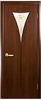 Бора-Р1 Орех 3d (60, 70, 80, 90см). Коллекция Модерн. Межкомнатные двери МДФ Новый Стиль