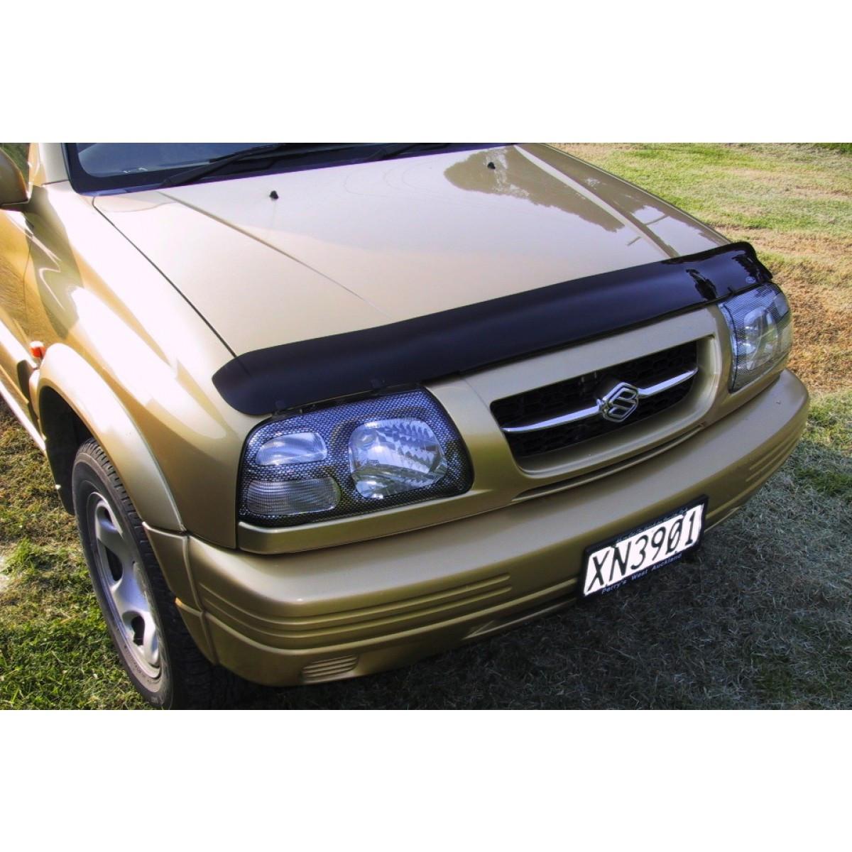 Дефлектор капота ( мухобойка ) Suzuki Grand Vitara 1998-2005 - AEROKLAS Ukraine в Киеве